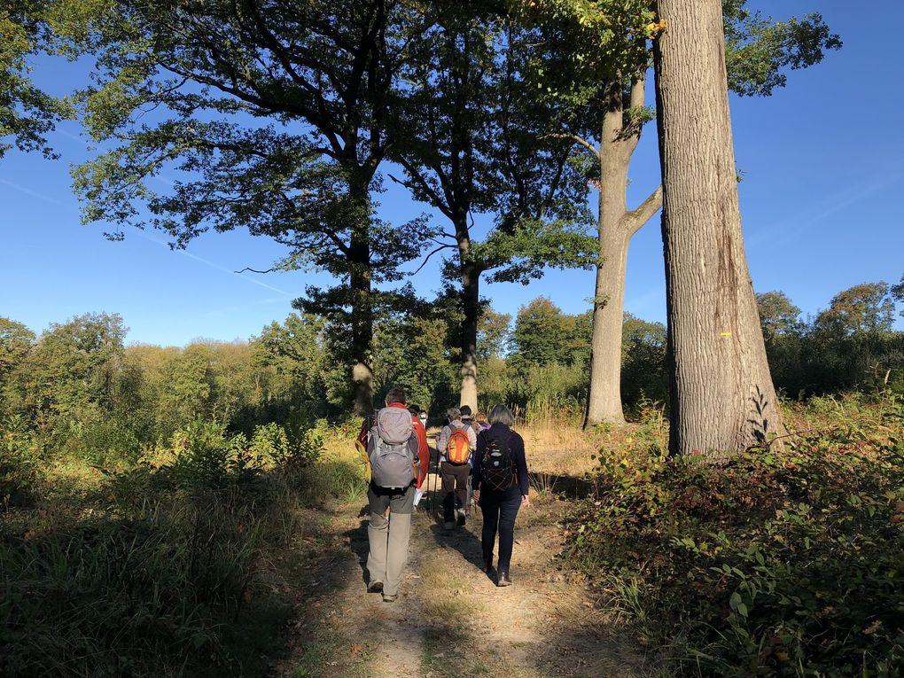 Randonnée en boucle de Presles-Courcelles - 18 km.