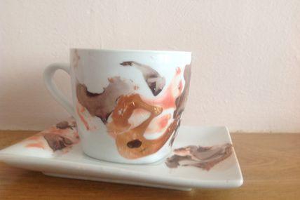 Ensemble tasse - soucoupe 2