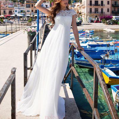 Robe de mariée parfaite pour votre fête