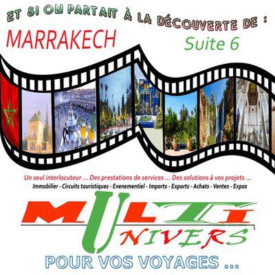 Et si on partait à la découverte de : Marrakech ( Suite 6 ) - Les tanneries traditionnelles - La vallée d'Ourika - Lescascades d'Ouzoud