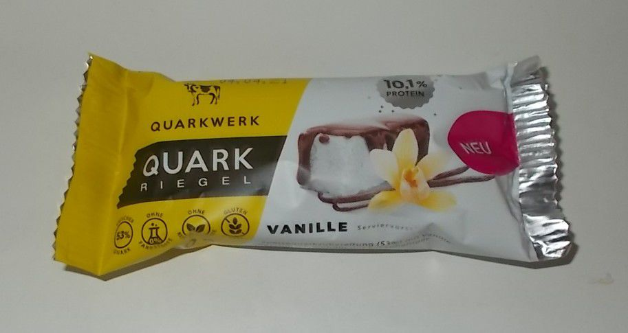 Quarkwerk Quark Riegel Vanille