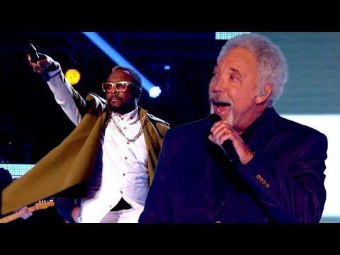 Vidéo The Voice UK : le medley chanté par Tom Jones, Will.i.am & Co.