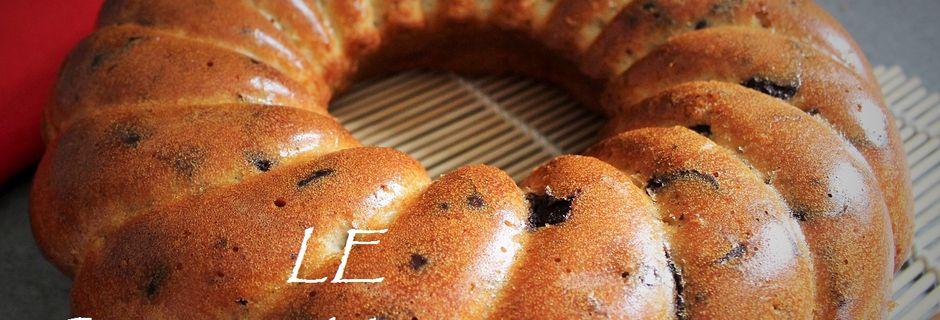Gâteau au Yaourt et Pépites de Chocolat