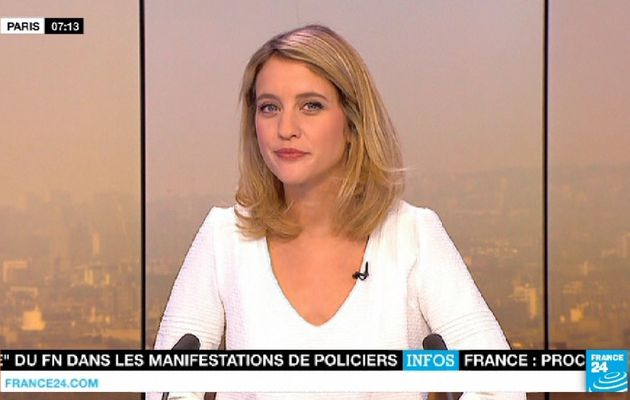 PAULINE PACCARD @PaulinePaccard ce matin @france24 pour PARIS DIRECT #vuesalatele