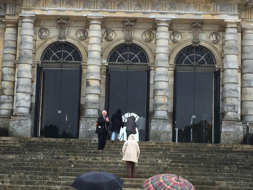 Le C.B.C. et ses chapeaux & les copains à Vaux le Vicomte et l'épilogue des clés