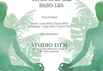 "Stage de yoga à Paris les 19-20-21 mai ""week-end de Pentecôte"""