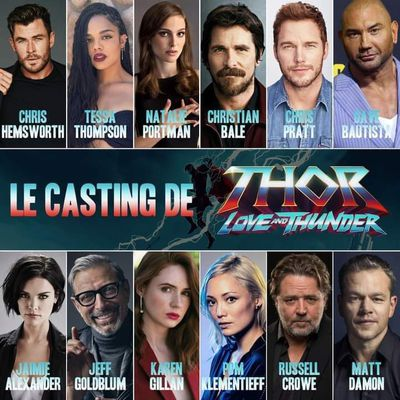 Thor Love and Thunder, le casting