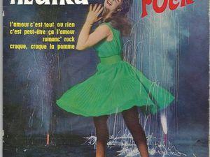 hedika, l'une des rares éléments féminins de la première vague rock française, une enfant de la balle née à budapest