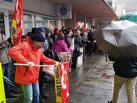 Une fois de plus la CGT Korian au plus proche des salarié.es pour leurs conditions de travail, les remplacements à 100%, la revendication de 1 salarié pour 1 résident, contre cette politique gouvernementale au seul profit des actionnaires!