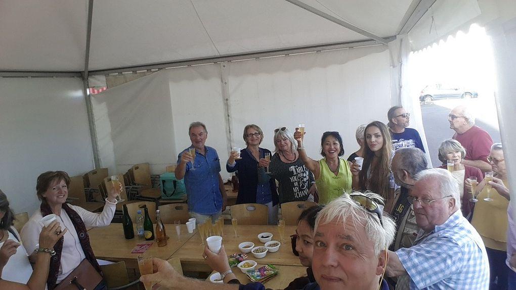 Retrouvailles associatives chez EURASIE Bordeaux Lac