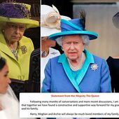 Queen says she is 'particularly proud' of Meghan