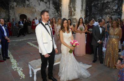 Traduction en espagnol : UN MARIAGE AUTHENTIQUEMENT MEXICAIN, MAIS INTERNATIONAL :  TATIANA ET ROBIN