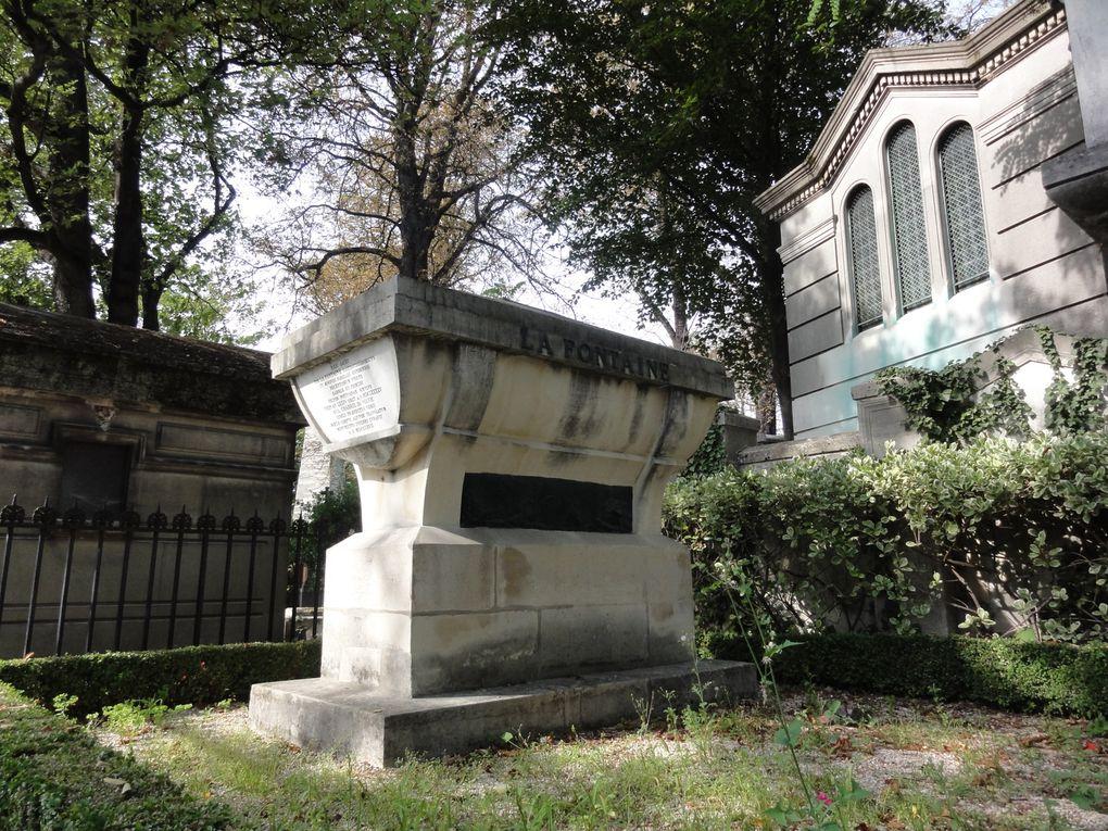 Une petite sélection des très nombreuses tombes remarquables de ce cimetières.