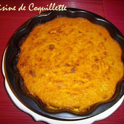 Flan de butternut et quinoa