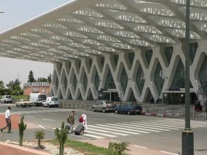 Aéroport de Marrakech-Menara architecture pos-moderniste