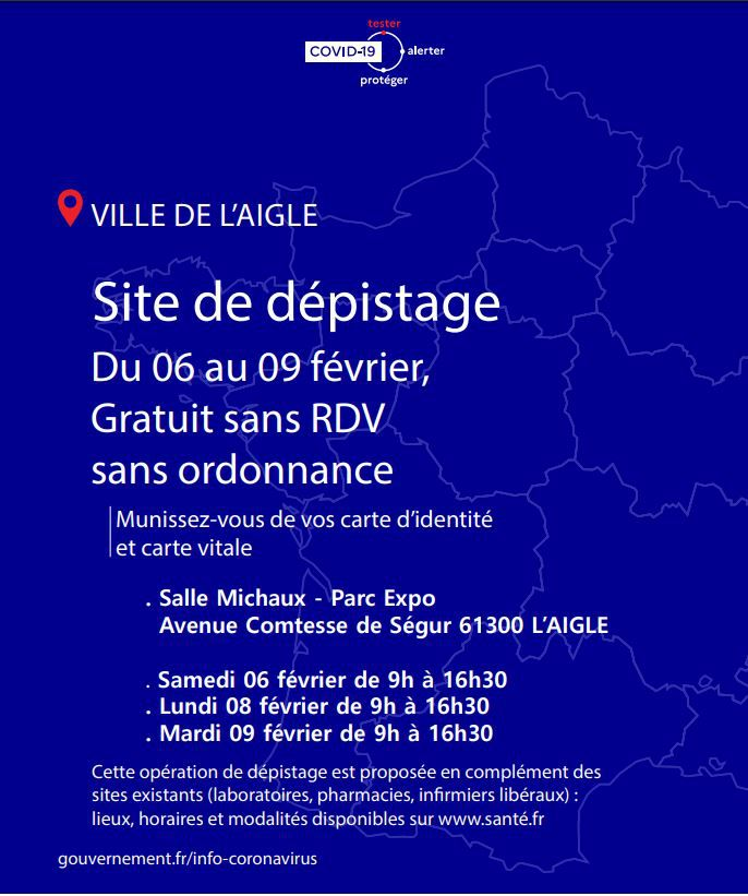 DEPISTAGE COVID 19
