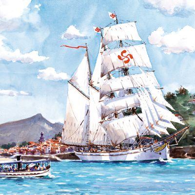 Le 3 mâts basque