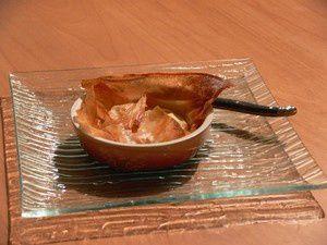 tartelettes pommes et caramel beurre salé