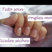 [ Tuto soin ] Ongles mous et cuticules sèches