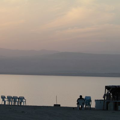 13 - Sunset & Dead Sea