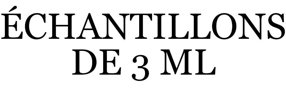 LES ÉCHANTILLONS