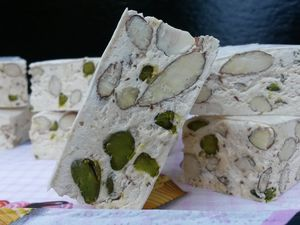 Nougat blanc - Angel's Kitchen