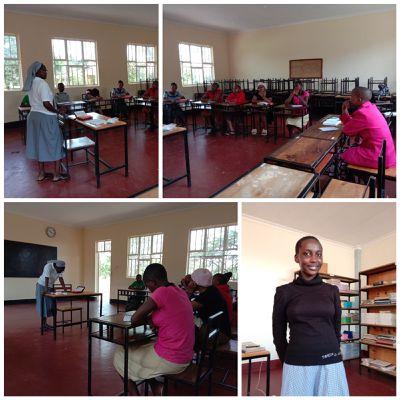 weekend  des vocations à  Arusha.