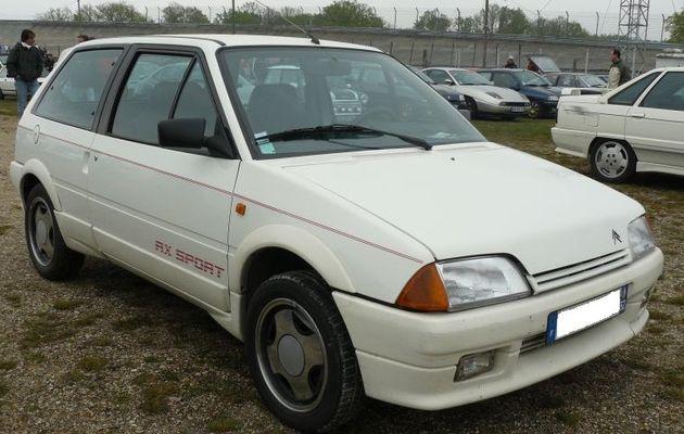 1ª Entrada de mi historia automovilística (1993) - Prueba del CITROËN AX SPORT (95 CV)-1986