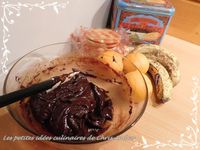 Grandes galettes choco/fruits