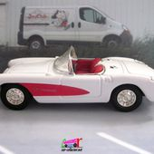 FASCICULE N°6 CHEVROLET CORVETTE CONVERTIBLE 1957 ROAD SIGNATURE 1/43 - car-collector.net