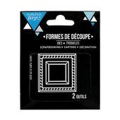 FDD31801 : Outils de découpe DEUX CADRES FEE DU SCRAP