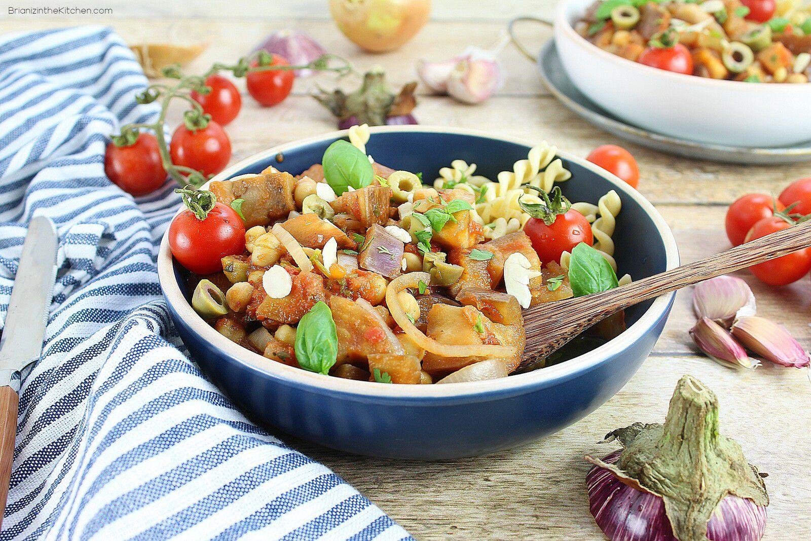 Ragoût Végétarien aux Aubergines