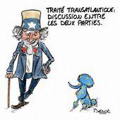 Résumé du traité transatlantique: Pire que le Traité Constitutionnel Européen auquel vous avez dit NON en 2005 !