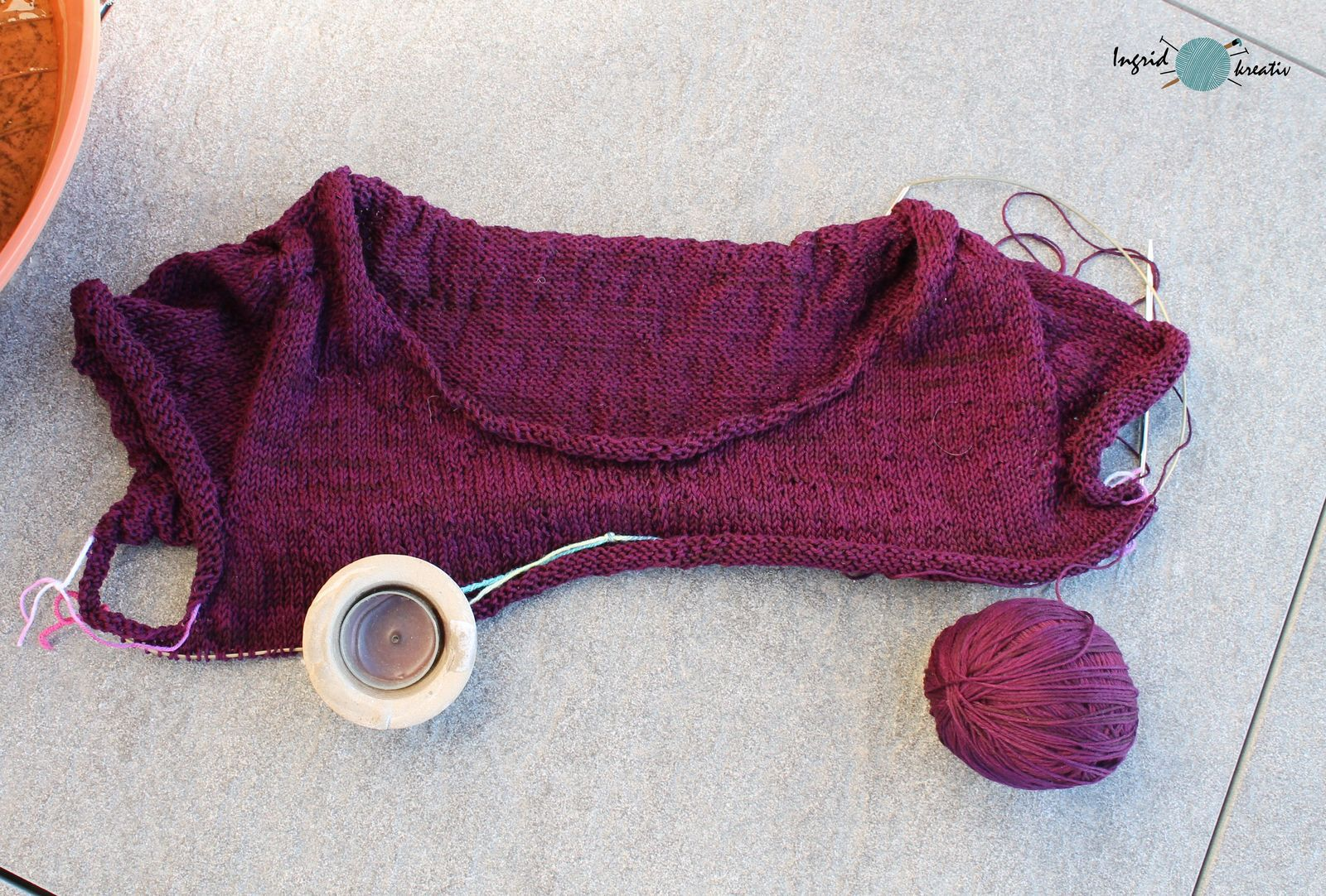 congiguous Pullover Wollmeise