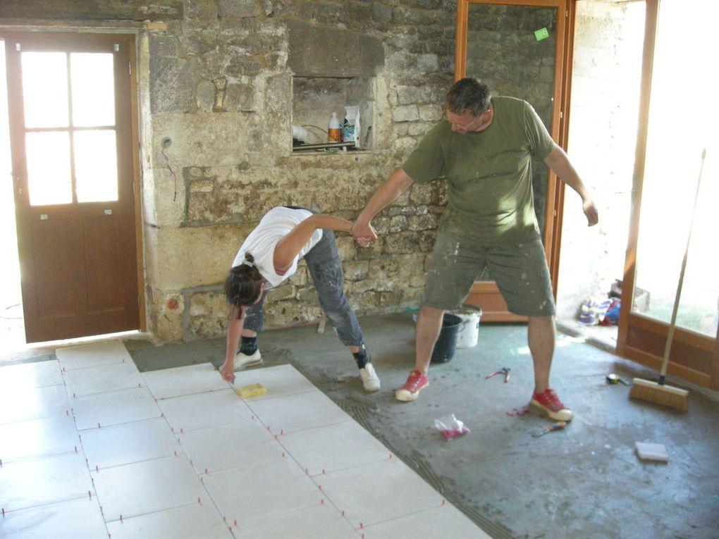 La rénovation en famille et avec les amis