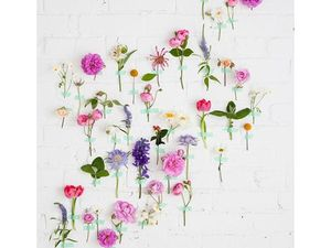 De belles et originales idées de bouquets glanées dans le Elle Déco.