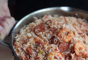 Jambalaya aux crevettes