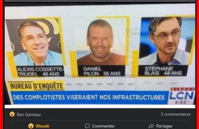 La province de Québec en danger de FALSE FLAGS