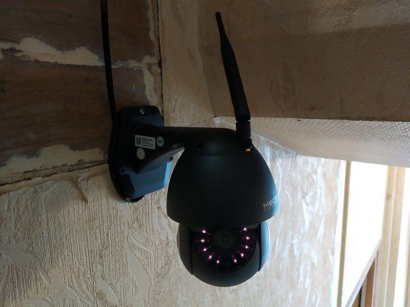 installation de la caméra de vidéosurveillance Full HD - MECO Eleverde PTZ Outdoor @ Tests et Bons Plans