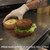 Steak sans viande : un business très juteux - Le Journal du week-end | TF1