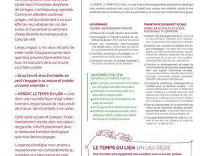 Découvrez notre programme et les propositions de « Condat, #letempsdulien »
