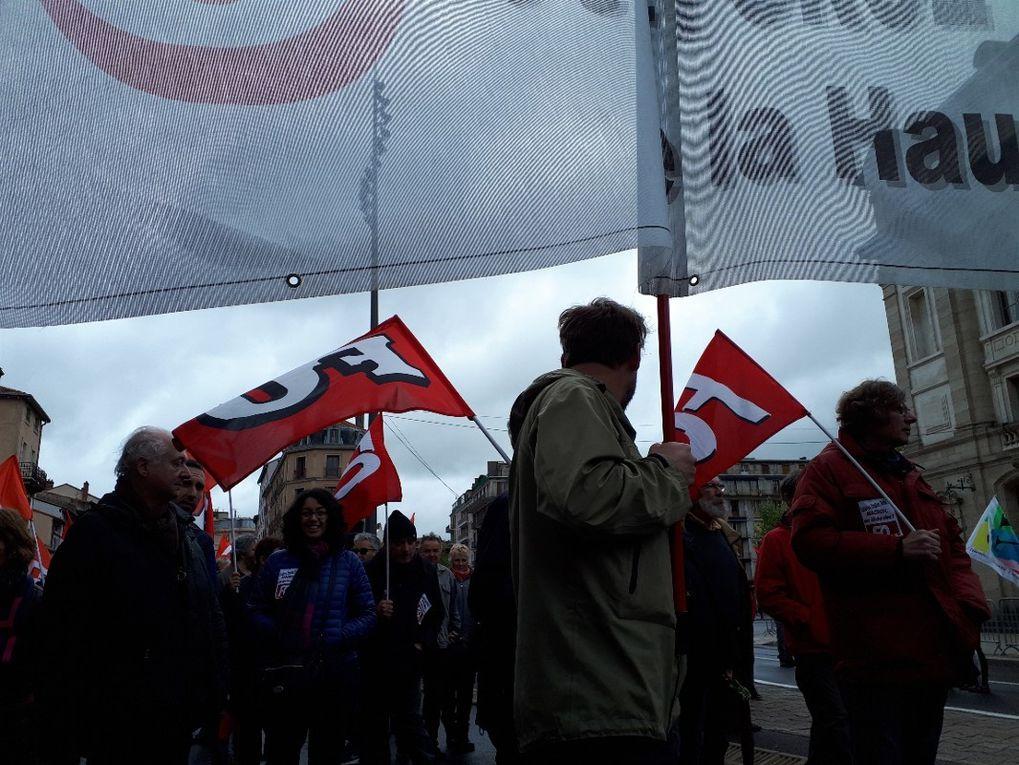 Près de 700 manifestants au Puy le premier mai
