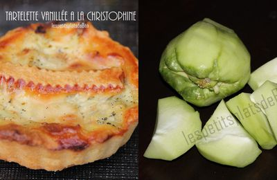 TARTELETTES VANILLEES AUX CHRISTOPHINES