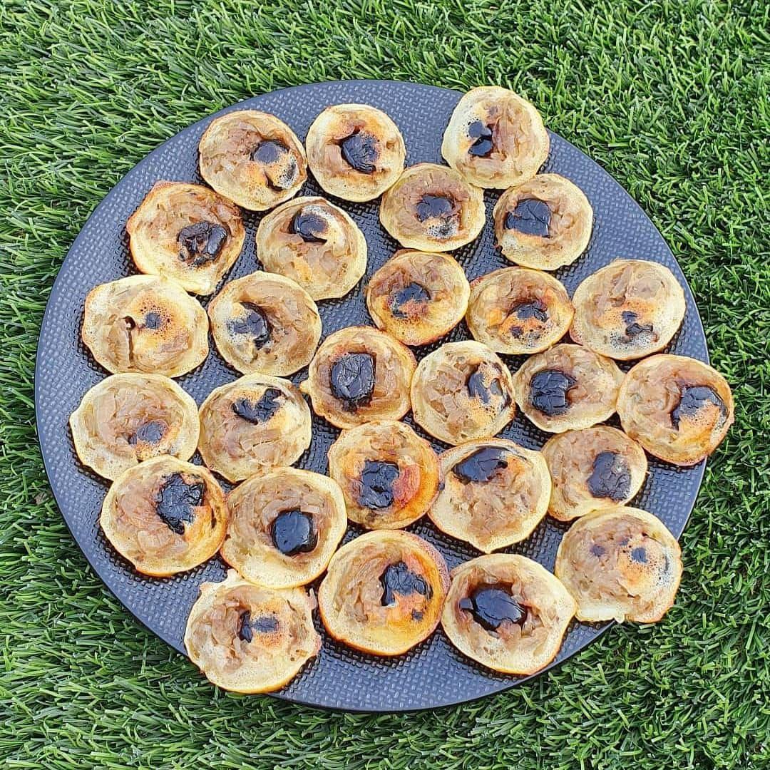 Mini tatins apéritives façon pissaladière
