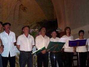 Concert dans la vallée d'Aure