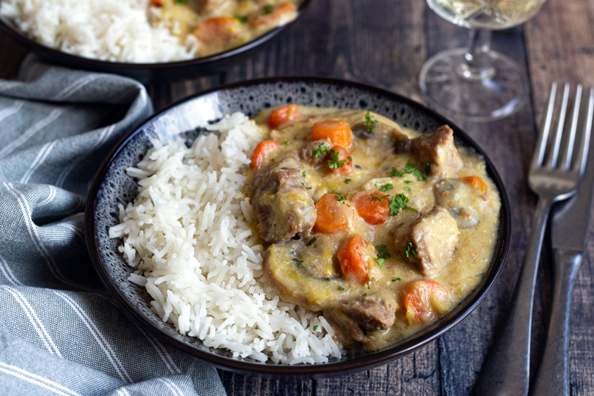 cookeo blanquette veau