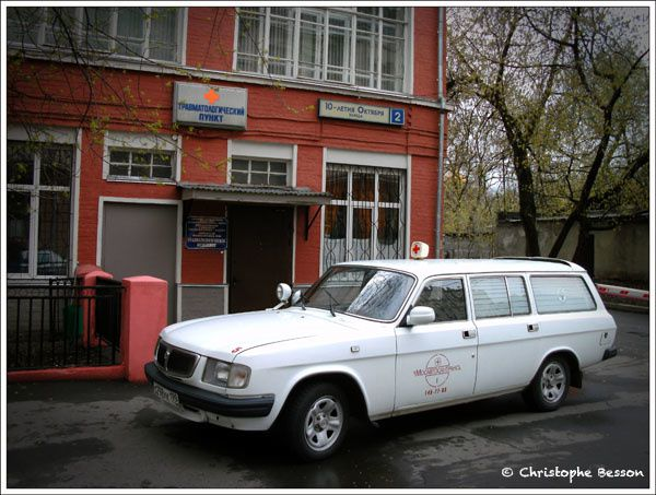 Photographies de Moscou