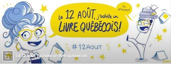 Le 12 août, j'achète un livre québécois (suite)