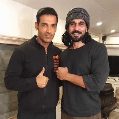 """John Abraham is very kind & dedicated towards his work."""