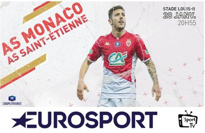 [Foot] AS Monaco / AS Saint-Étienne (Coupe de France) ce mardi sur Eurosport 2 !